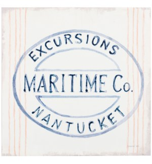 MARITIME MARKET | 24in w. X 24in ht. | Coastal Canvas Print