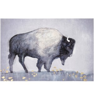 BUFFALO STANCE | 36in w. X 24in ht. | Printed Canvas