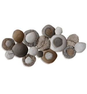 NATURAL METAL ENSEMBLE | 27in X 53in | Metal Wall Art