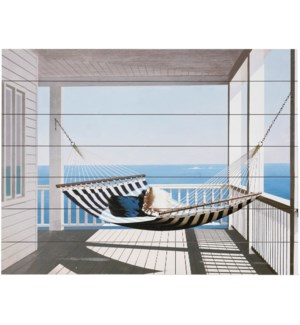 REST AND RELAXATION | 40in w. X 30in ht. X 2in d. | Coastal Wood Art