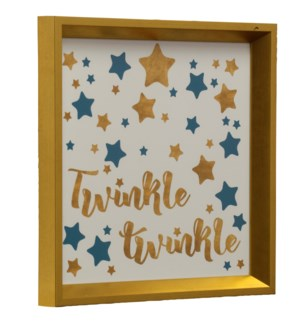 Twinkle Twinkle | Made in USA | Juvenile Collection Wall Art | Framed Print Under Glass