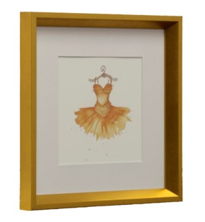 Dress I | Made in USA | Juvenile Dancer Collection Wall Art | Framed Print Under Glass