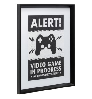 ALERT | 24in X 18in | Made in the USA | Framed Print Under Glass