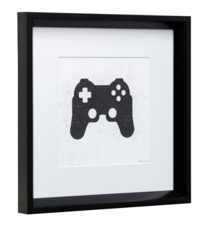 GAMING IV | 14in X 14in | Made in the USA | Framed Print Under Glass