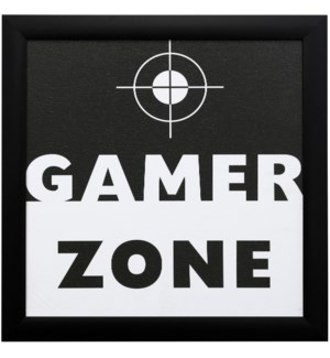 GAME ZONE | 23in X 23in | Made in the USA | Framed Print Under Glass