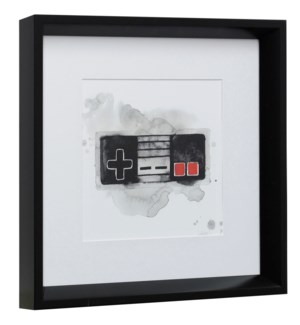 GAMER I | 14in X 14in | Made in the USA | Framed Print Under Glass