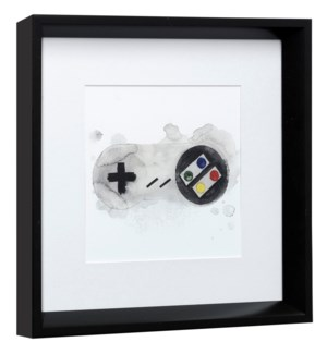 GAMER II | 14in X 14in | Made in the USA | Framed Print Under Glass