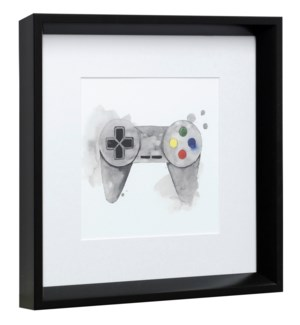 GAMER III | 14in X 14in | Made in the USA | Framed Print Under Glass
