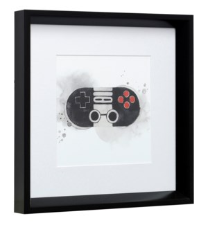 GAMER IV | 14in X 14in | Made in the USA | Framed Print Under Glass