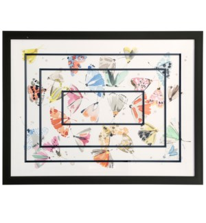 Ephemeral Beauty | Framed Print Under Glass | 31in X 42in