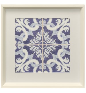 Kaleidoscope I | Framed Print Under Glass | 18in X 18in