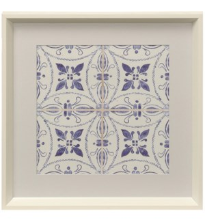 Kaleidoscope II | Framed Print Under Glass | 18in X 18in