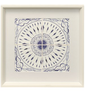Kaleidoscope III | Framed Print Under Glass | 18in X 18in
