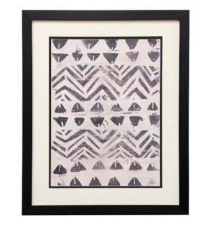 Pattern Bazaar I | 22in X 18in | Framed Print Under Glass