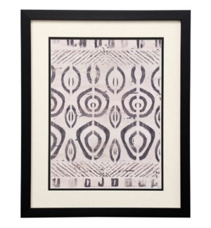 Pattern Bazaar IV | 22in X 18in | Framed Print Under Glass