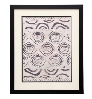 Pattern Bazaar VI | 22in X 18in | Framed Print Under Glass