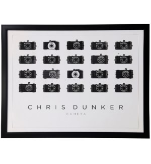 Camera Sequence | 33in X 43in | Framed Print Under Glass