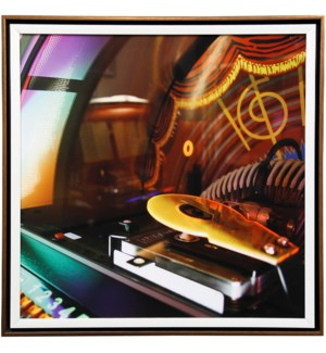 Jukebox I | 27in X 27in | Framed Print Under Glass