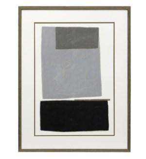Blockade I | 35in X 27in | Framed Print Under Glass