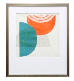 Chipper IV | 30in X 26in | Framed Print Under Glass