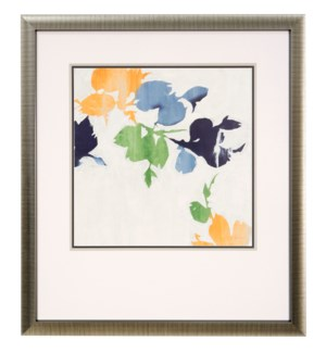 FALLING LEAVES III | 31in w X 35in ht | MADE IN USE | FRAMED PRINT UNDER GLASS