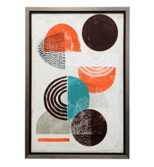 Chipper II | 39in X 27in | Textured Framed Print