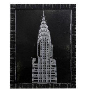 CHYRSLER   45in X 35in   Made in the USA   Textured Framed Print