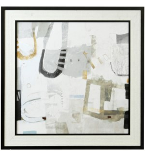 MODERN RHYTHM | 38in X 38in | Made in the USA | Textured Framed Print