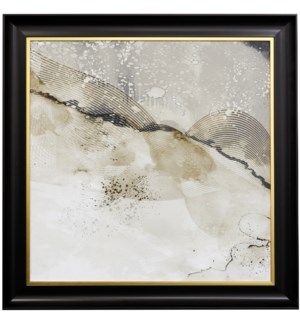 UPSIDE | 42 X 42 | Made in USA | Textured Framed Print