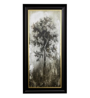 TREE IN THE GLOOM I | 27 X 55 | Made in USA | Textured Framed Print