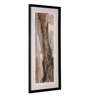 BRUSHSCAPE I | 42in ht X 17in w | Framed Print Under Glass