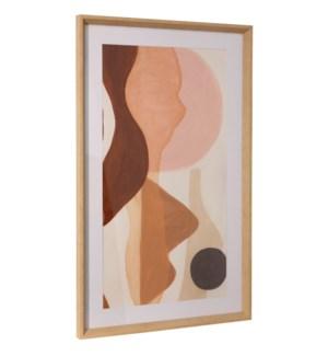 ADOBE BOHO | 36in ht X 22in w | Framed Print Under Glass