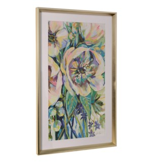 ENGAGING | 36in ht X 22in w | Framed Print Under Glass