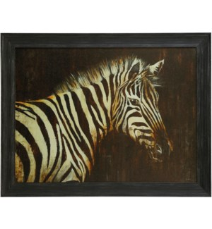 STRIPED PAJAMAS   36in X 46in   Made in the USA   Textured Framed Print