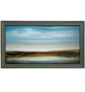 SCOPE 309 | 30in X 52in | Made in the USA | Textured Framed Print