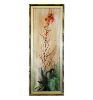 FIREWEED I   39in X 15in   Made in the USA   Textured Framed Print