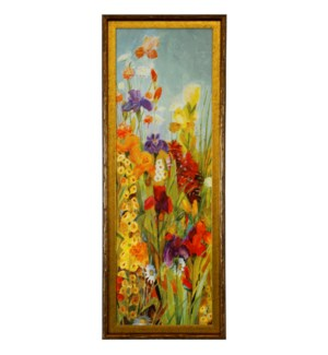 MERRIMENT I   39in X 15in   Made in the USA   Textured Framed Print