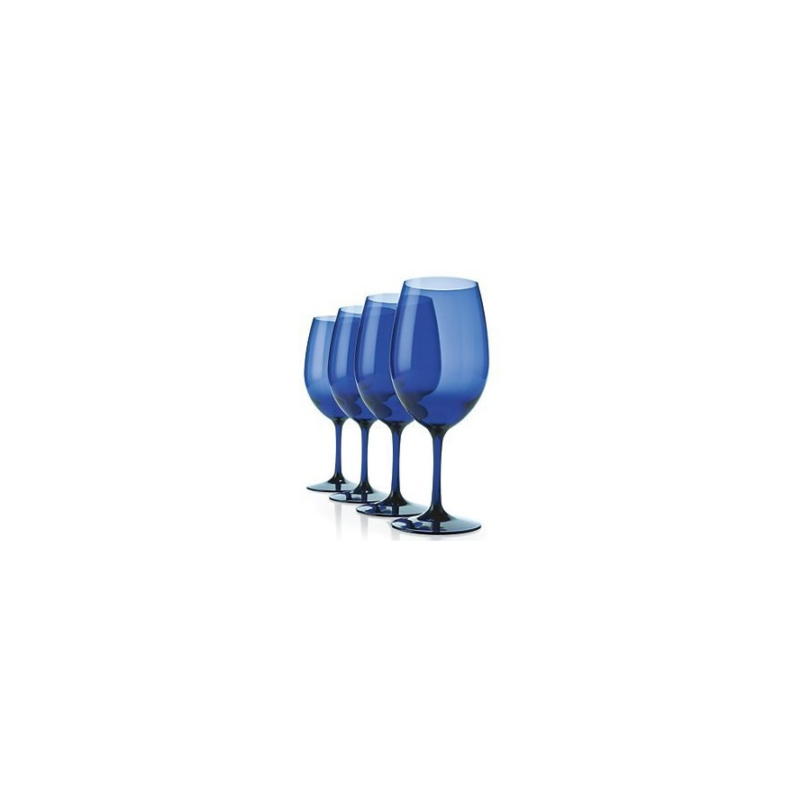 Blue BPA Plastic Wine Wines
