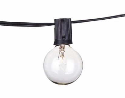 Savannah String Lights - 48ft with Clear bulbs