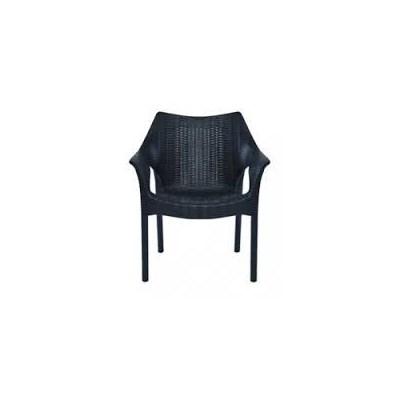 Black Commercial Armrest Chair