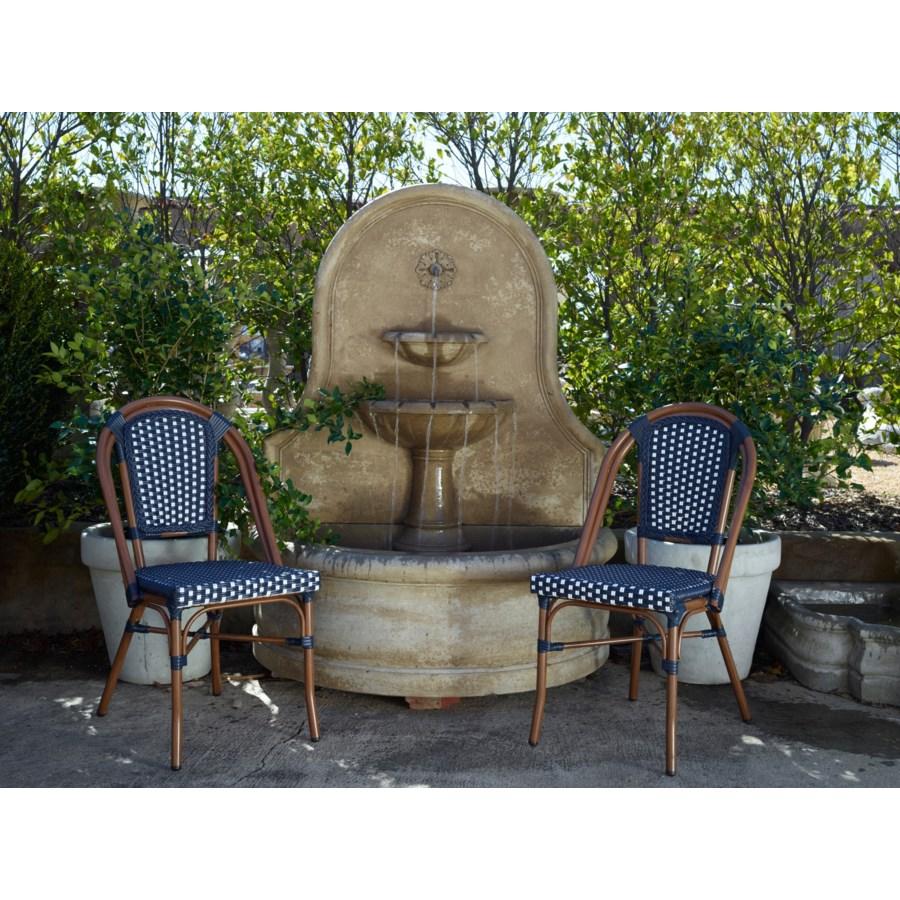 Original Navy & White Café Bistro Chair