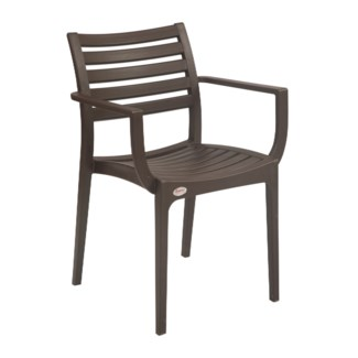 Brown Commercial Grade Armrest Chair