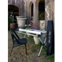 Silver Large Picnic Table in a Bag