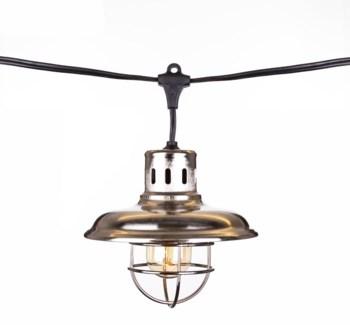 Galvanized Lantern