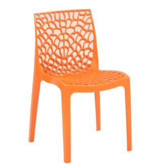 Orange Commercial Grade Chair
