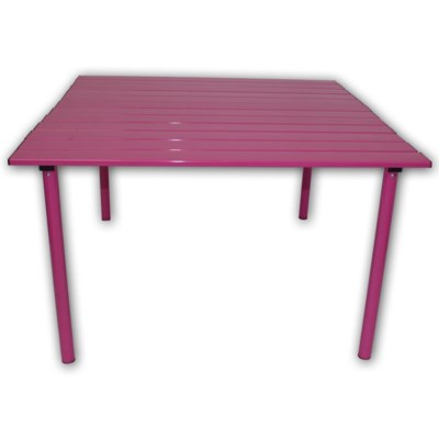 Pink Low Aluminum Table in a Bag