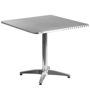 31.5 Stainless Steel Square Table