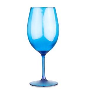 Blue BPA Plastic Wine Wines