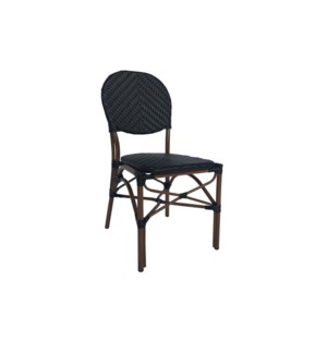 Black Café Bistro Chair