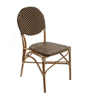 Brown & Cream Café Bistro Chair
